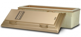 <h5>The Wilbert Bonze</h5><p>Ultimate triple-reinforced protection • Cover and base reinforced with durable bronze alloy • Exterior base completely encased and interior reinforced with high-impact plastic •  Memorialization Plus® capsule (brass) and customized nameplate • 100-year warranty </p>